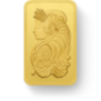 100 gram Fine Gold Bar 999.9 - PAMP Suisse Lady Fortuna Veriscan