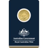 1/4 oz Fine Gold Coin 999.9 - Kangaroo Veriscan BU 2018