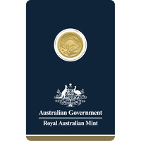 1/10 oz Fine Gold Coin 999.9 - Kangaroo Veriscan BU 2018