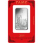 1 Unze FeinSilberbarren 999.0 - PAMP Suisse Lunar Schwein