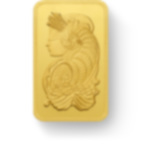10 gram Fine Gold Bar 999.9 - PAMP Suisse Lady Fortuna Veriscan
