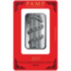 Lingotin d'argent de 1 once pur 999.0 - PAMP Suisse Lunar Serpent