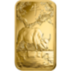 Investir dans l'or, 5 grammes Lingotin, Lingot d'or pur Lunar Boeuf - PAMP Suisse - Front