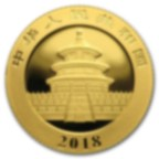 3 gram Fine Gold Coin 999.9 - Panda BU 2018