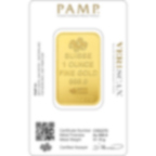 Investire in 1 oncia lingottino d'oro puro 999.9 - PAMP Suisse Lady Fortuna - Veriscan - Back