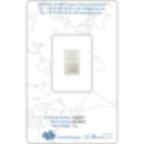Buy 1 gram Fine Palladium Lady Fortuna - PAMP Suisse - Certi-PAMP - Back