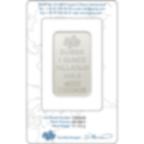Comprare 1 oncia lingottino di palladio puro 999.5 - PAMP Suisse Lady Fortuna - Certi-PAMP - Back