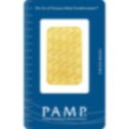 Invest in 1 oz Fine gold Swiss New - PAMP Swiss