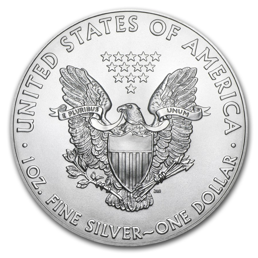 1 oncia moneta d'argento - American Eagle BU 2018