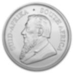 Comprare Tubo di 25 Monete - 1 oncia moneta d'argento puro 999.0 Krugerrand  - Zecca sudafricana - Back