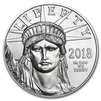 2018 1 oz Platinum American Eagle BU