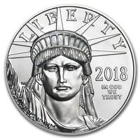 1 oz Platinum Coin - American Eagle BU 2018