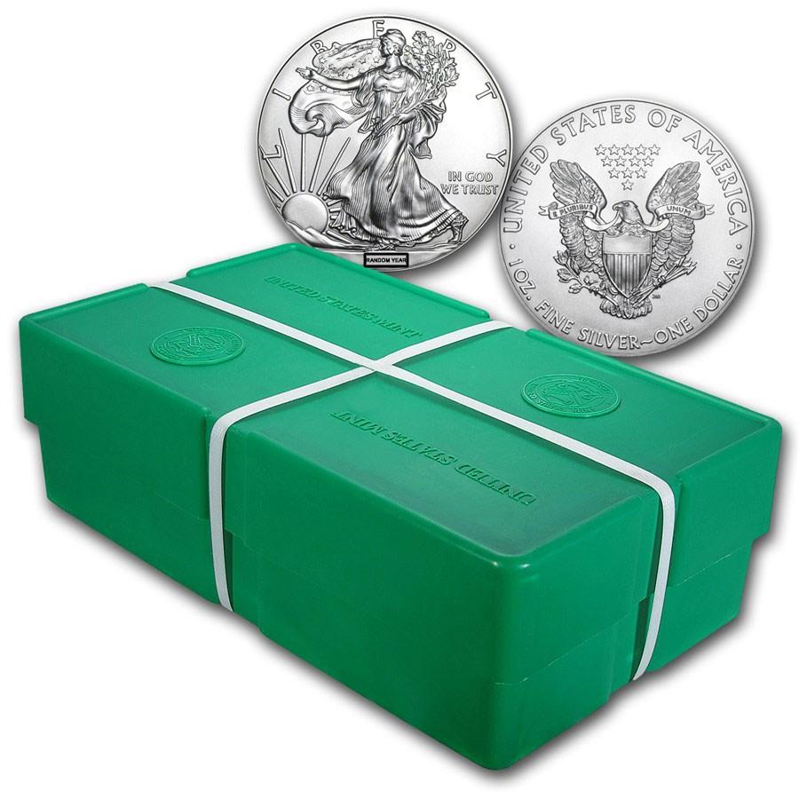 Comprare 500 Monete Aquila Americana d'Argento Monster Box - Zecca Statunitense - Monster Box