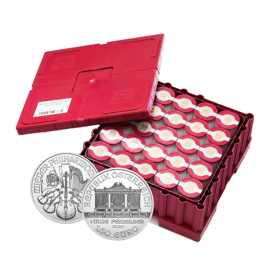 Investire in 500 Monete Filarmonica d'Argento Monster Box - Zecca Austriaca - Monster Box