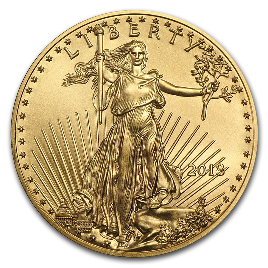 1 oz gold american eagle united states mint goldavenue