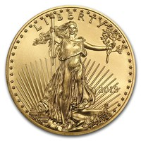 1 oz Gold Coin - American Eagle BU 2018