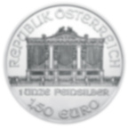 1 oz Fine Silver Coin 999.0 - Philharmonic BU Mixed Years