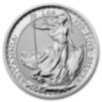 1 oncia moneta d'argento puro 999.0 - Britannia BU Anni Misti