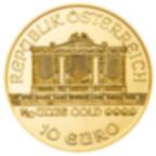 Investieren Sie in 1/10 Unze Feingoldmünze Philharmonic - Austrian Mint - Back