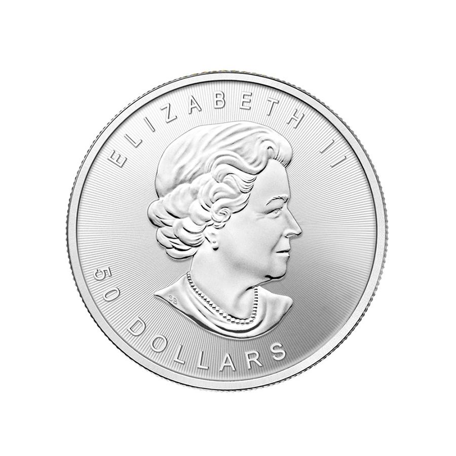 1 oz Fine Palladium Coin 999.5 - Maple Leaf Random year
