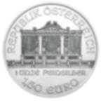 Tubo di 20 Monete Filarmonica d'Argento (Anni Misti)