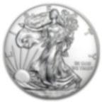 500 Monete Aquila Americana d'Argento Monster Box (Anni Misti)