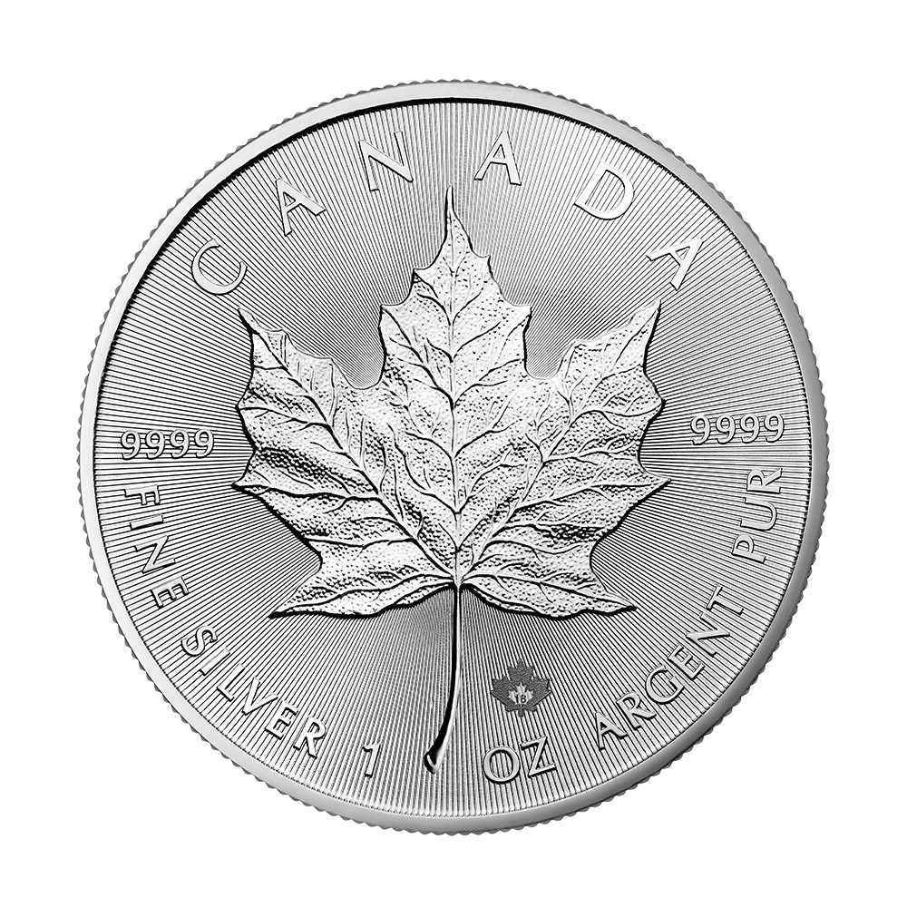 Maple Leaf en argent de 1 once BU - 2018