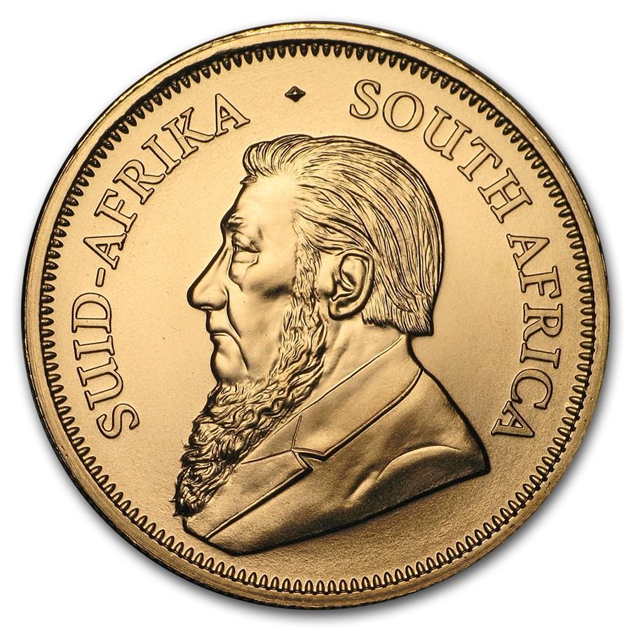 Random South Africa 1 oz Gold Krugerrand