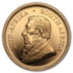 1/10 oncia moneta d'oro puro 916.7 - Krugerrand Anni Misti