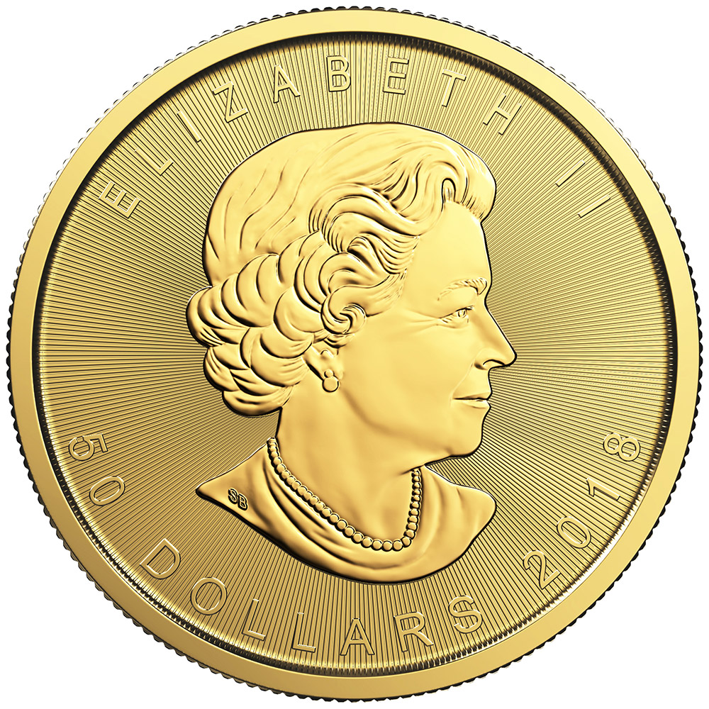 1 once pièce d'or - Maple Leaf BU 2018