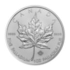 1 oz Fine Palladium Coin 999.5 - Maple Leaf Random year