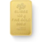 Buy 100 grams Fine gold Lady Fortuna - PAMP Swiss - Back