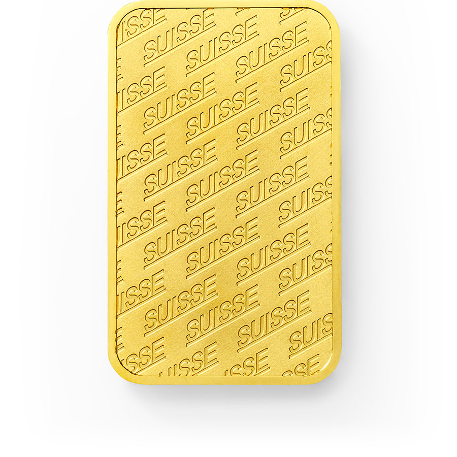 Purchase 1 oz Fine gold Swiss New - PAMP Swiss - Front