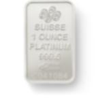 Investire in 1 oncia lingottino di platino puro 999.5 - PAMP Suisse Lady Fortuna - Back