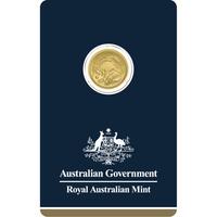 2018 Australia 1/10 oz Gold Kangaroo BU Veriscan