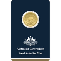 2018 Australia 1/4 oz Gold Kangaroo BU Veriscan