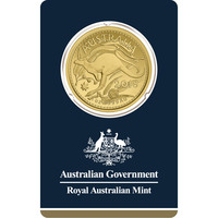 2018 Australia 1 oz Gold RAM Kangaroo BU Veriscan
