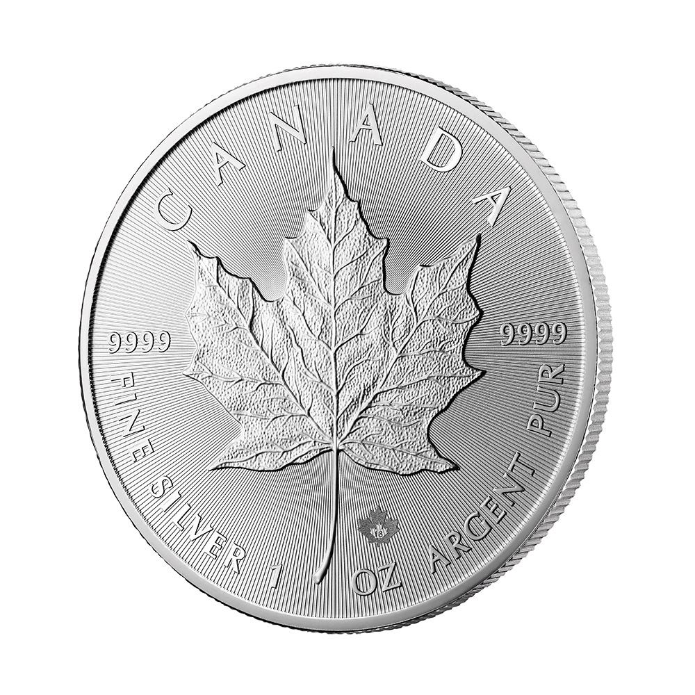 2018 Canada 1 oz Silver Maple Leaf BU