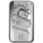 100 grammi lingottino d'argento puro 999.0 - PAMP Suisse Drago Lunare