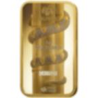5 grammes lingotin d'or pur 999.9 - PAMP Suisse Lunar Serpent