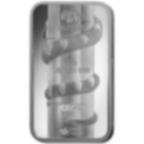 10 grammi lingottino d'argento puro 999.0 - PAMP Suisse Lunar Serpente
