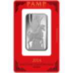 1 oz Fine Silver Bar 999.0 - PAMP Suisse Lunar Horse