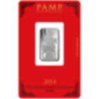 10 gram Fine Silver Bar 999.0 - PAMP Suisse Lunar Horse
