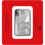 Lingotin d'argent de 100 grammes pur 999.0 - PAMP Suisse Lunar Cheval