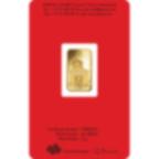 5 grammi lingottino d'oro puro 999.9 - PAMP Suisse Lunar Cane