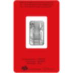 10 grammi lingottino d'argento puro 999.0 - PAMP Suisse Lunar Scimmia