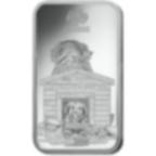 10 grammi lingottino d'argento puro 999.0 - PAMP Suisse Lunar Cane