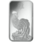 10 grammes lingotin d'argent pur 999.0 - PAMP Suisse Lunar Coq
