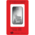 1 Unze FeinSilberbarren 999.0 - PAMP Suisse Lunar Ziege