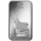 10 Gramm FeinSilberbarren 999.0 - PAMP Suisse Lunar Ziege